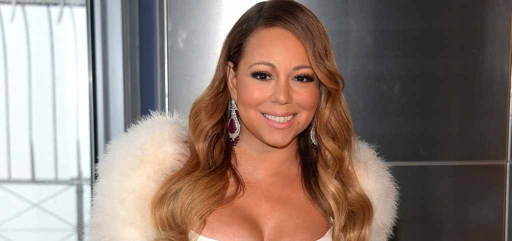 Mariah Carey Kicks Off The Empire State Building 20th Annual Valentine's Day Weddings Event